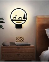 Wall Lamps Modern LED Light Round Lamp For Bedroom Kitchen Living Room Balcony Indoor Home Aisle