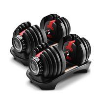 الثقيلة الوزن قابل للتعديل الدمبل 52 رطلا أو تدريب معدات اللياقة البدنية 24 كيلوجرام
