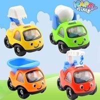 Новый детский мини-мультфильм инерциальный инжиниринг автомобиль бульдозерных самолетов детский сад модель игрушечный автомобиль