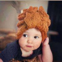 Caps & Hats Thick Plush Baby Hat Soft Cotton Winter Warm Born Girl Boy Beanie Solid Color Ear Protection Infant Toddler Bonnet