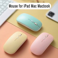 21 Tablet laptop wireless mouse RGB rechargeable peripheral with Bluetooth mute led for PC games Ergonomic_mk