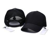 Toptan Snapback Marka Bonnet Tasarımcısı Kavisli Kamyon Şoförü Şapka Erkekler Kadınlar Bahar Ve Yaz Beyzbol Şapkası Vahşi Günlük Ins Moda Hip Hop Mesh Deri Kapaklar