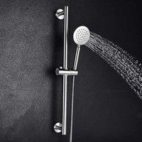 Cuarto de baño Ducha deslizante Altura ajustable Estilo moderno Multifunción Cepillado Cepillado Ducha de mano X0705
