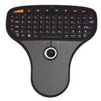 Mini Wireless Remote Keyboard Air Mouse With Trackball Ultra-light Multimedia Control Function For Android TV Box Keyboards