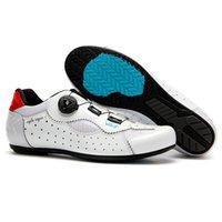 Alta Qualidade Profissional Homens Bicicleta Esportes Sapatos de Estrada Bicicleta Auto-travamento Calçado de Ciclismo Calçados
