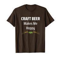 Cerveza de artesanía me hace camisa de la toppy juego inteligente en palabras tee