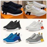 2021 Tasarımcı Ayakkabı Zıplayan Sıçrama Sneaker Antiskid Işık Taban Düz Platformu Casual H Atletik Ayakkabı Tuval Süet Tasarım Runner Sneakerxoep #