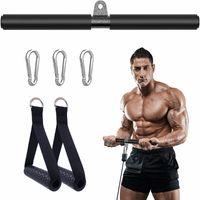 Fitness DIY Gym System System Système de câble Machine Poignées Exercice Poignées Lat Tirez pour Biceps Curl Triiceps Accessoires