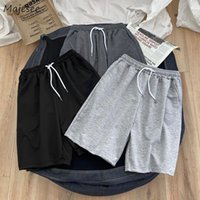 Men Casual Shorts Simple Male Summer Solid Breathable Basic ...