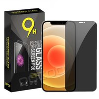 Privacy Anti-Spy Anti-glare Screen Protector Tempered Glass For iPhone 12 Mini 12Pro 11 Pro XR IX XS Max 8 7 6S Plus With Paper Package