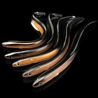 30 سنتيمتر 58 جرام سيليكون المطاط baits الأسود لوتش swimbait الصيد اكسسوارات الصيد softbait لينة ثعبان إغراء