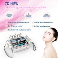 Protable Máquina de Hifu 7D para tratamento anti-rugas Rosto Rosto Levante Ultraform Ultra III Antigo SMas Ultrassom Hifu Equipmenrt