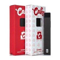 Torta Delta 8 Vuoto VAPE monouso POD Dispositivo POD E-Sigarette Kit di avviamento 1ML PCTG Vapes Pods 270mah 3.3 V Batteria ricaricabile VAPORIZZO DI SNAP-ON