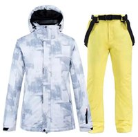 Skiing Jackets Thermal Warm Ski Suit Men Windproof Waterproof Suits Snowboarding Jacket And Pants Set Male Snow Clothing Plus Size