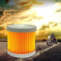 Piezas Filtro de aceite de motocicleta Motor de metal Cooler Cofren Funda Accesorios de montaje para su-zu-ki