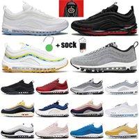 Nike Air Max 97 nike air max 97 airmax x off white 크기 46 쿠션 97OG는 남성 여성 배의 화이트 신문 숀 Wotherspoon MSCHF이 INRI 예수 무패 UNDFTD 올리브 운동화 X 신발을 실행