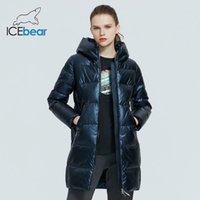 Icebeape - женское высококачественное повседневное пальто, с капюшоном с капюшоном, зимняя мода, GWD20161D, 2021