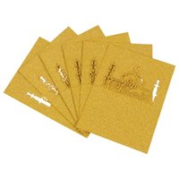 20pcs Creative Table Cards Eid Hallow Out Name Place Wedding...