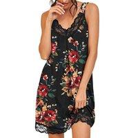 Летние сексуальные леопардовые печати подвеска платье женские спящие одежды с коротким рукавом ночная рубашка мягкая спичка плиссированная ночная рубашка купальники