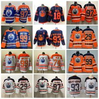 Männer Frauen Jugendhockey Edmonton Eiler Jersey 97 Connor McDavid 99 Wayne Gretzky 29 Leon Draisaitl 93 Ryan Nugent-Hopkins 39 Alex Chiasson 18 James Neal 74 Ethan Bär