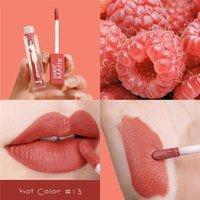 Lip Gloss 1PC Matte Lipgloss Velvet Liquid Lipstick Beach Girl Lasting Waterproof Nourish Tint Sexy Makeup Cosmetic
