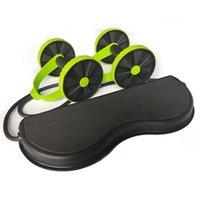 A ab колеса роликовых эластичных эластичных сопротивляемости брюшной полости вытягивающие веревочный валик для мышц тренер