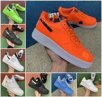 Forças Mens Baixo 1 1 MCA MOMA Running Shoes Reagir QS Branco Triplo Black University Vermelho Azul Overbranding Sombra Tropical Twist Twist Mulheres Dunk Utility Sneakers
