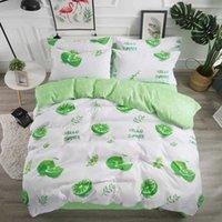 Bedding Hello summer bedding suit Queen's lemon tea large baby girl's bed J0604