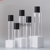 100pcs 100ML 120ML 150ML 200ML PET Cream Container Cosmetic Travel Shower Refillable Bottles Personalized Lotion Bottle F3384high qty