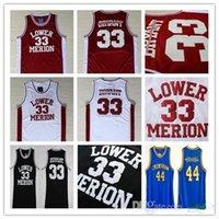 NCAA niedrigerer Mersion 33BryantJersey College Herren High School Basketball Hightower Crenshaw 44 Rot Weiß Schwarz Blau genäht