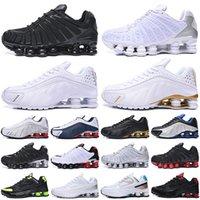 chaussures shox tl 새로운 도착 OG R4 트리플 블랙 남성 여성 운동화 플랫폼 301 Lime Blast 남성 트레이너 스포츠 신발 운동화 제공