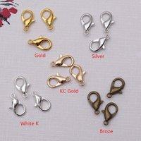 FAI DA TE 1000PCS Aragosta stringili per collana orecchini braccialetto gioielli all'ingrosso 12 * 6mm rifornimenti in lega componenti