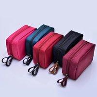 Cosmetic Bags & Cases Women's Bag Fashion Zipper Ladies Clutch Mobile Phone Waterproof Nylon Makeup Cosmetics