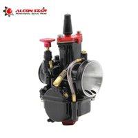 Alconstar- Alta Qualidade Carburador de Motocicleta PWK Carburador Koso 28mm 30mm 32mm 34mm Fit 100cc a 450cc todo sistema de combustível