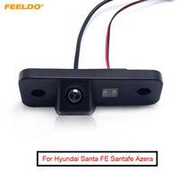 Auto View View Telecamere Sensori Parcheggio Sensori Felldo 1 Impostazione della fotocamera inversa per Santa Fe Santafe Azera Grandeur License targa # AM2616