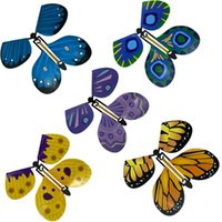 New 3D magic flying butterfly DIY Novel toy various playing methods butterfly magic props magic tricks toys