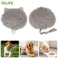 Kennels & Pens Pet Product Slowing Feeding Nose Sniffing Bowl Mat Leak Food Anti Choking Dogs Snuffle Training Blanket Felt Cloth
