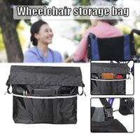 Storage Bags Portable Wheelchair Bag With Adjustable Strap Multifunctional Univeral Hanging For Women Men