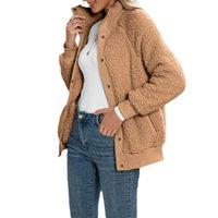 Kadın Ceketler Kayotuas Kadın Ceket İlkbahar Sonbahar Warmfashion Bayanlar Rahat Tek Göğüslü Düğme Yukarı Uzun Kollu Ceket Giysileri