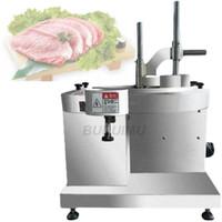 Fleischschleifer Automatische elektrische Schneidemaschine Hühnerbrust Slicer Block Frische Fischfilet Schneidehersteller