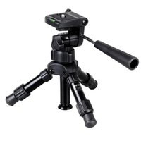Tripods Lightweight Mini Camera Phone Tripod Professional Pography Travel With Pan Head For DSLR Smartphone