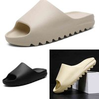 H6ATV terlik batı slaytlar köpük koşucu çöl kum dener siyah üçlü yüksek kaliteli terlik kemik beyaz reçine slayt sandalet
