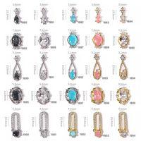 Adesivi per unghie Zircone 3D Gioielli per decorazioni d'arte 2021 Moda chiodi piatti Accessori per unghie Diamond Salon Diamond Manicure