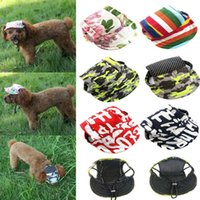 Dog Apparel Pet Baseball Cap With Ear Holes Puppy Canvas Hat Sports Summer For Small Dogs MJJ88