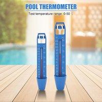 Accesorios de piscina Tubas de spa portátil Estanques de temperatura del agua ABS Natación Práctica Termómetro flotante duradero multifuncional
