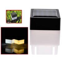 Solar LED Post Cap Luz à prova d 'água à prova d' água Cerca Lâmpadas de pilar para Ferro Fechado Fencing Front Yard e Quintais Portão Paisagismo Residencial