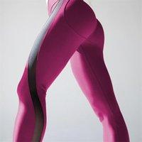 Activewear Ascensore Ascensore Mozziconi Yoga Leggings Cross Vita Design Lati Striscia Pantaloni fitness Pantaloni BULIFT Pantaloni sportivi Abbigliamento Abbigliamento Abbigliamento Womens 60ZCD E19