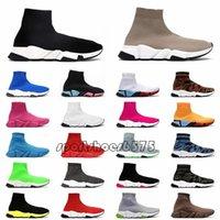 양말 스포츠 신발 망 여성 플랫폼 스니커즈 디자이너 캐주얼 구두 트리플 블랙 베이징 패션 LuxURS 레저 양말 부츠 36-45
