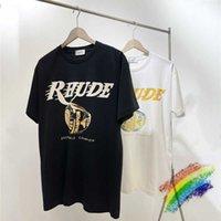 Rhn Limited Los Angeles T-Shirt Männer Frauen 1: 1 Hohe Qualität Tops Tee Kurz MOUW