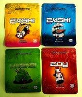Новейшие Zushi Mylar Alavor Herb Цветочная молния сухой табак розничная сумка Zushi Mylar сумки 3,5 г Упаковочные сумки дочерняя сумка для детей 2021
